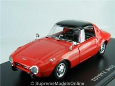 TOYOTA S800 MODEL CAR 1/43RD SCALE SPORTS 2 DOOR ISSUE RED PACKED K8967Q~#~