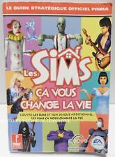 Guide stratégique officiel prima LES SIMS CA VOUS CHANGE LA VIE en francais pc