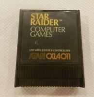Star Raider Atari 400 800 1200 XL XE Computer Game Cart