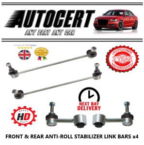 VW TOURAN 2003-2015 - FRONT & REAR ANTI ROLL BAR STABILISER DROP LINKS X 4 - L&R