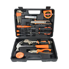 17-Piece Tool Set General Household Home Repair Hand Tools Kit with Storage Case