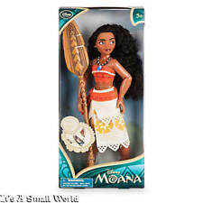 "Disney Store Exclusive Moana Classic Doll Authentic Size 11"" NWT"
