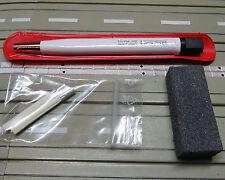 MODELLINO PISTA PER SLOT CAR fibra di vetro Gomma Ricaricabile + blocco-pulizia