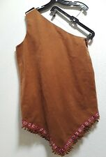 Mens MEDIUM LARGGE COSTUME SEXY GAY Unisex WOMENS XLARGE INDIAN pocahontas ?