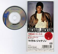 "MICHAEL JACKSON Beat It / Billie Jean JAPAN 3"" CD 10.8P-3046 Unsnapped/Unfolded"