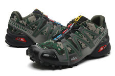 Hot Men's Outdoor Salomon Speedcross 3 Green camouflage Sports Hiking Shoes