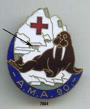 Insigne santé , Ambulance Médicale d'Armée 90  , ( morse )