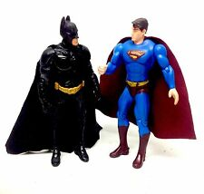 "DC COMICS ORIGINALE BATMAN + SUPERMAN 5 ""TOY ACTION FIGURE SET, la giustizia"
