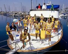 NBA 1987 Los Angeles Lakers team Picture Color 8 X 10 Photo Picture