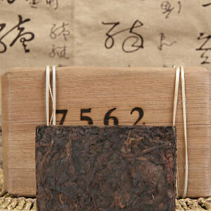 Organic Black Tea Healthy Drink Ripe Puerh Tea 250g Yunnan Old Puerh Tea Brick