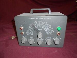 HeathKit signal generator model SG-8