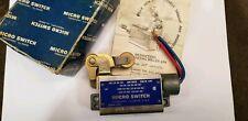 Honeywell Micro Switch Bzln-2-Lh Limit Switch w/ roller lever arm New