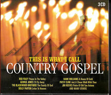 COFFRET 3 CD 45T THIS IS WHAT I CALL COUNTRY GOSPEL PORTUGAL PARTON/FOLEY/REEVES