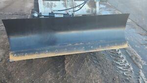 new design demo 78 inch tilt dozer blade for skid steer snow plow fits bobcat