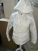 The North Face Womens Ski Snowboard Jacket HyVent SIZE S / 10 White