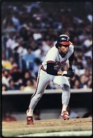 Rod Carew 35mm Baseball Slide California Angels Vtg MLB D13