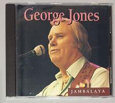 GEORGE JONES Jambalaya 12 tracks (ZERO SCRATCHES) CD Album