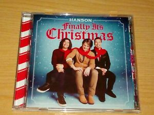 HANSON FINALLY IT'S CHRISTMAS CD 2007 VGC.