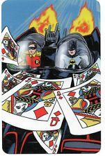 Playing card swap cards batman robin dynamic duo super hero