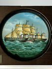 Wooden+Cased+Hand+Painted+Magic+Lantern+Slide+Great+Eastern+Paddle+Steam+Ship