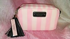 Victoria's Secret Striped Crossbody Bag Clutch With Strap  Org. $42