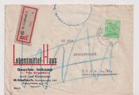 Gemeinsch.Ausg. Mi. 958 EF, R-M.Gladbach 1 - Köln, Doppelverw., 28.5.48