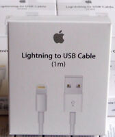 Genuine Apple iPhone 6 6S 7 Plus SE 5 5S iPad Lightning To USB Charger Cable NEW