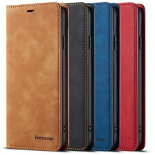 For Samsung Galaxy S21 Ultra S20 Plus FE Magnetic Flip Wallet Leather Case Cover