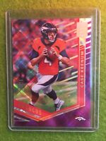 CASE KEENUM PRIZM REFRACTOR /99 SSP 2018 Donruss Elite Football NFL QB SP PURPLE