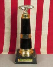 """Vintage Quarter Aces Drag Way Auto Racing Trophy Corvette Boiling Springs,PA 15"""""""