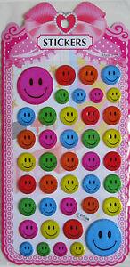 Stickers Smileys Gesicht Neu
