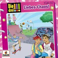 Die Drei !!! - 060/Liebes-Chaos CD NEU OVP