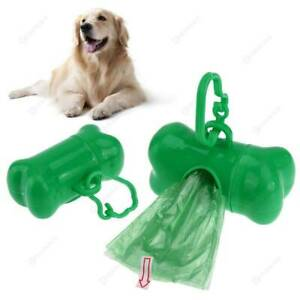Dog Poo Bags Extra Strong Large Double Thick Dog Poop Dispenser Doggy Cat Pet