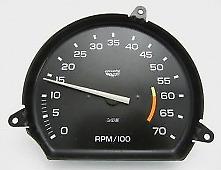 1978-1979 Chevrolet Corvette Tachometer L-82 6000 RPM