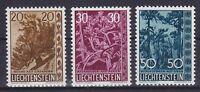 Liechtenstein Mi Nr. 399 - 401 **, heimische Bäume 1960, postfrisch, MNH