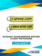 ELEGANT AVIOE/REMOVE BEFORE FLIGHT KEYCHAINS