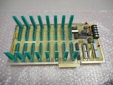 Teltec O1V 4595 Input/Output Motherboard 16 Slot Connectors