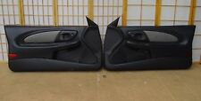 00-05 Chevy Monte Carlo SS DALE EARNHARDT RCR Edition Door Panel SET BLACK GRAY