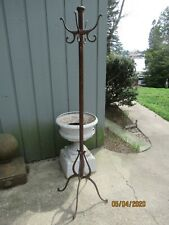 Vintage Koch Barber Shop Cast Iron Hat Coat Rack Pole