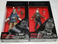 STAR WARS Toys - 6 Inch - Cassian Andor & Jyn Erso NEW Black Series
