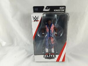 WWE MATTEL ELITE SERIES 60 KOFI KINGSTON WRESTLING FIGURE
