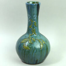 ELTON CLEVEDON ARTS & CRAFTS MOVEMENT POTTERY VASE C.1890