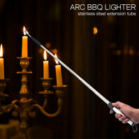 Candle Lighters Long Mouth 70cm USB Rechargeable Telescopic Electric Arc Lighter