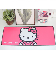 Hello Kitty Long Gaming Mouse Pad 30 x 11.8in (78 x 30cm) - Hot Pink