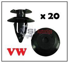 20 x VW VOLKSWAGEN T25 INTERIOR DOOR CARD AND PANEL TRIM LINING CLIPS 823867299