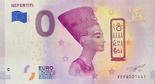 BILLET 0  EURO  NEFERTITI ALLEMAGNE  N° PALINDROME 1441