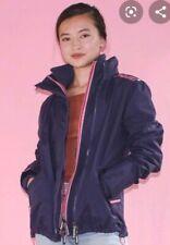 Superdry The Windcheater Fleece Lined Jacket Coat Purple/Pink Size XS UK8