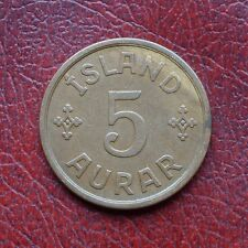 L'Islanda 1931 BRONZO 5 aurar