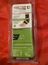 """Copperfit Pro Series Ankle Sleeve Compression NEW!!! Large 17""""-19"""""""
