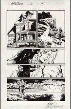 NEW LISTINGCaptain America #50 Art by Dan Jurgens and Bob Layton - Sharon Carter Comic Art